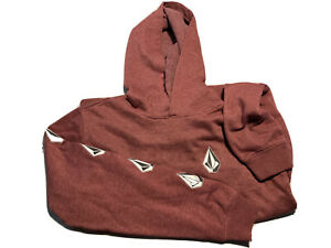 Volcom 2 Sickly Stones Youth Pullover Hoodie Sz XL