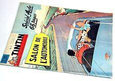 Tintin n° 780 Spécial Auto Avec le Chèque tintin
