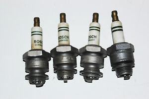 MERCEDES 1930's 1940's ORIGINAL Spark Plugs  170v  M145T1  set of four!!!!
