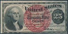 FR1303 AU 25¢ FRACTIONAL CURRENCY BS627