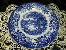 British Staffordshire Pottery Dinner Plates