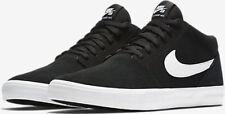 Nike SB Solarsoft Portmore II Mid Men's Casual Shoes Black 923198-011