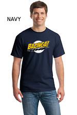 Funny Bazinga Big Bang Theory Sheldon Cooper New Cotton T-Shirt W/Free Shipping