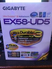 UNUSED Gigabyte Technology GA-EX58-UD5, LGA 1366/Socket B, Intel Motherboard