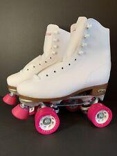 Chicago Womens Classic Roller Skates - Size 7 - White Rink Skates - Quad Wheels