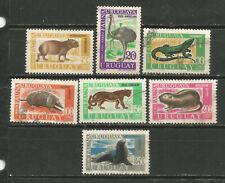 URUGUAY Scott# C361-368 (0) Fauna 1970-71