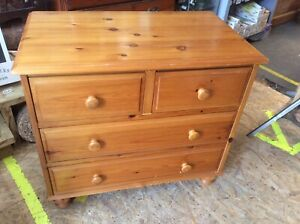 Pine 2 + 2 Chest Of Drawers