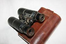 Rare  German  binoculars Hensoldt Wetzlar Jagd Dialyt 6x with case, D.R.P.