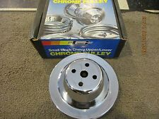 Mr Gasket 4971 SB Chevy Water Pump Pulley - Double Groove for Short Water Pump
