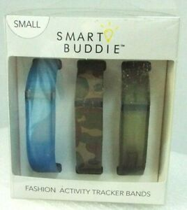 Smart Buddie Fashion Activity Tracker Bands Sz S 3 Bands for Fitbit Voguestrap