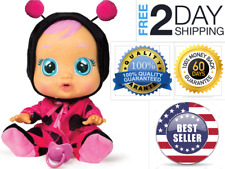 Best Price Brand New Cry Babies Lady The Ladybug Doll - Free Fast Shipping