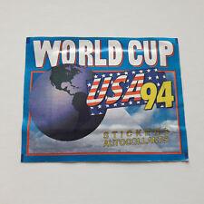 Pochette no panini football coupe du monde broca 1994