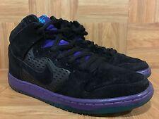 RARE🔥 Nike Dunk High Premium SB Black Grape Ice Emerald Sz 9 Men's 313171-027