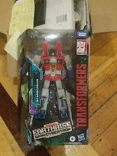 Transformers War for Cybertron Earthrise Voyager Starscream - OPEN BOX!