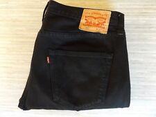Men's Levi Strauss & Co 501 Classic-Fit  Black Jeans W36 L32