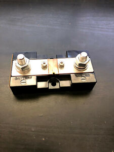 DC Ammeter Shunt, 500 amps 50 mV