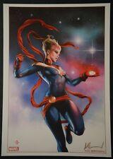 Ms Marvel Art Print Signed by Adi Granov