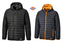 Dickies Mens Stamford Workwear Polyester Insulated Puff Puffer Jacket 1922 Range