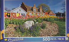 NEW Puzzlebug 500 Piece Jigsaw Puzzle ~ Colorful Tulips Windmill Island