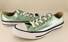 Converse All-Star Women's Jade Green Metallic Low-Top Shoes 155562f