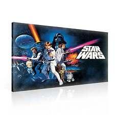 Star Wars  Neue Hoffnung XL LEINWAND BILDER WANDBILD (PPD729FW)