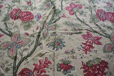 1 metre Bernard Thorp 'Eleanor' Cotton Fabric - RRP £75 per metre