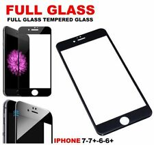 Black Mobile Phone Screen Protectors for iPhone 7