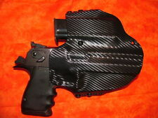 LEFT HAND HOLSTER COMBO W Extra Mag BLACK KYDEX FITS DESERT EAGLE 357 44 50