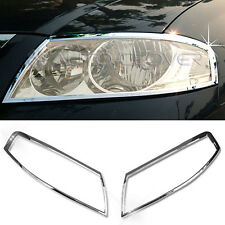 Chrome Head Lamp Cover Garnish Molding A771 For RENAULT 2006 - 2009 Scala / SM3