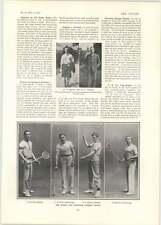 1902 Oxford Cambridge Racquet Wilson Graham Golf Fak Bramston