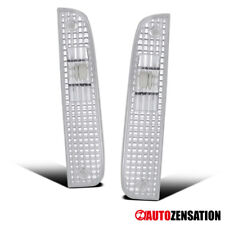 For 1997-2001 Jeep Cherokee Clear Lens Corner Turn Signal Lights Parking Lamps