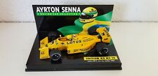 "Minichamps 1:43 a. senna Collection nr 15 lotus honda 99t 1986 ""de Longhi"""