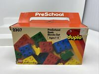 Lego Duplo 2307 Vintage 1984 Preschool Basic Blocks Set 18 Pieces Complete CIB