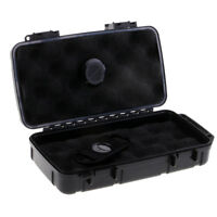 Portable Travel Cigar Humidor Waterproof Holder Case with Cigar Cutter