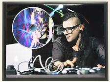 SKRILLEX #1 Ltd Edition Picture Disc Poster Art Display Free Shipping