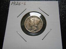 1926-S Mercury dime better grade.