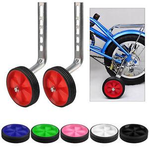 Universal Kids Bikes Cycle Training Wheels Bike Stabilisers Wheels 12-20inch UK