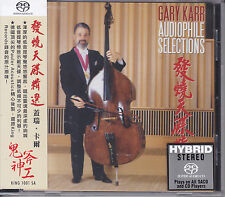 """""""Gary Karr - Audiophile Selections"""" Hybrid SACD CD Stockfisch King Records New"""