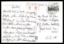 BEIJING CHINA 1980s SINGLE FRANKED AIR MAIL RPPC POSTCARD TO NY USA