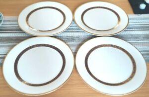4 x Royal Doulton Harlow Blue Dinner Plates