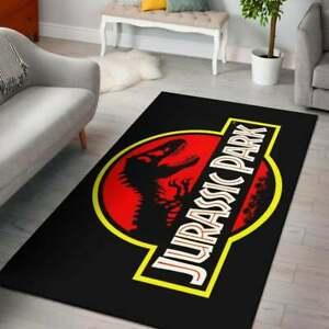 Jurassic Park World Area Rugs Living Room Anti-Skid Area Rugs Floor Mats Carpets