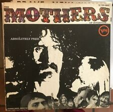 """FRANK ZAPPA/MOTHERS OF INVENTION """"Absolutely Free"""" 1967 MONO Orig. VG++"""