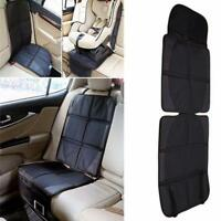 Baby PU Leather Car Seat Protector Mat Covers Under Child Seat Saver Car Cover