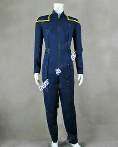 Star-Trek Kirk Enterprise Costume Archer Jumpsuit Uniform Cosplay Suit Outfit