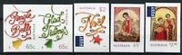Australia 2018 MNH Christmas Noel Jingle Bells Nativity 5v S/A Set Stamps