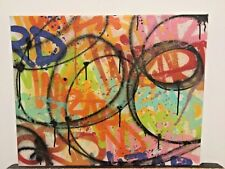 WIZARD NYC Graffiti legend on Canvas as Seen Cope2 Jonone iz, urban art, street