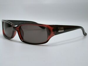 Authentic Gucci Modern Designer Red Clear Sunglasses Shades Made in Italy