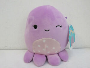 "SQUISHMALLOWS 2021 NWT VIOLET THE OCTOPUS NEW 5"" WINK CANADA EXCLUSIVE"