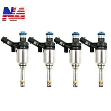 4Pcs Fuel Injectors For 0261500076 Audi A4 A3 A5 TT VW T5 Eos CC 2.0L Turbo
