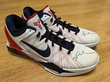 NIKE USA KOBE BRYANT 7 SIGNED SHOES DREAM TEAM 2012 LONDON OLYMPICS SZ 14 AUTO